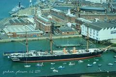 HMS Warrior (gmj49) Tags: harbour sony warrior hms portmouth gmj a350
