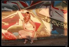 nEO_IMG_DP1U1588 (c0466art) Tags: portrait motion art beauty pose bride pretty outdoor ruin blond attractive cloth charming elegant russian yuna goegeous