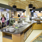 "<b>Dining Services Rennovation.</b><br/> Photos depicting the newly rennovated dining options. <a href=""http://farm8.static.flickr.com/7123/13872372994_c208be75a7_o.jpg"" title=""High res"">∝</a>"