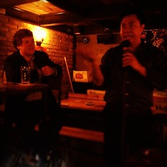 #Chengdu Entrepreneurship Meetup with Dr. Jonathan Wang and @aarontschirhart at the Beer Nest