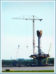 Mersey Crossing Construction 2016 (foggyray90) Tags: bridge construction cheshire runcorn merseyside widnes halton merseycrossing