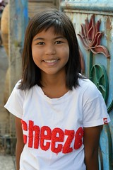 pretty preteen girl (the foreign photographer - ) Tags: girl portraits thailand nikon pretty bangkok preteen cheeze khlong bangkhen thanon d3200