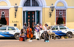 Street Performers (Marcy Leigh) Tags: street travel music musicians streetperformers neworleans nola roadside performers 116 latrobes 116picturesin2016