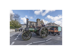 """""""Traction Control"""" (silver/halide) Tags: vintage movement cornwall d750 panning kingedward steamengine kernow tractionengine trevithick vintagevehicle steampower camborne johnbaker poldark trevithickday"""