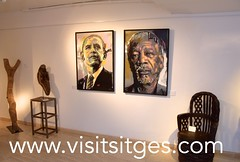 African Recycl'art - Out of Africa (Sitges - Visit Sitges) Tags: africa art festival out arte african galeria sitges reciclaje 2016 recyclart reciclart reciclatge
