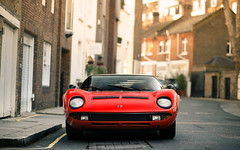 Miura. (Alex Penfold) Tags: red london cars alex car super classics autos lamborghini supercars penfold miura 2015