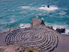 Lands End Labyrinth (seekjim20) Tags: sanfrancisco california sea us unitedstates stones landsend labyrinth