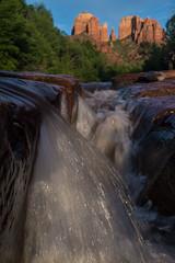 The Church (Braden Gunem) Tags: arizona waterfall sedona cathedralrock oakcreek