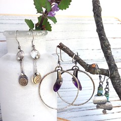 Shop Update Photo (StacieF.) Tags: stacie handmade jewelry metalwork earrings metalsmith florer