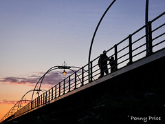 Evening Stroll (pennyaprice) Tags: sunset pier outdoor dusk southport