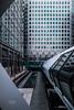 Adams Plaza Bridge (XILAG Pictures) Tags: london photoshop canon londres canarywharf dri 1635 dynamicrangeincrease canonef1635mmf4lisusm ef1635mmf4lisusm
