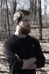 Dustin Kilburg (dustinkilburg) Tags: beard model woods dustin kilburg