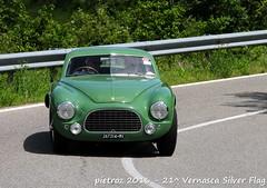 DSC_6565 - Ferrari 212 Berlinetta - 1951 - Casella Paolo - CMAE (pietroz) Tags: silver photo foto photos flag historic fotos pietro storico zoccola 21 storiche vernasca pietroz