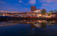 Clark Quay Reflections (Ram Suson Photography) Tags: life city reflection night singapore cityscape clarkquay clarkquaynightlife clarkquayatnight