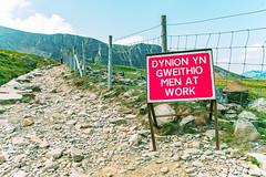 Wales | Betws-y-coed | Snowdonia (photomez) Tags: wales snowdon canon eos1100d sigma tamron summer uk unitedkingdom sunny betwsycoed snowdonia path men fence scenery