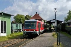 P2320822 (Lumixfan68) Tags: 628 eisenbahn schnberg hein vt zge triebwagen baureihe dieseltriebwagen verbrennungstriebwagen westfrankenbahn