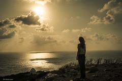 (Laszlo Horvath 1M+ views tx :)) Tags: sunset sea sun church girl israel model nikon haifa nikond7100 sigma1835mmf18art
