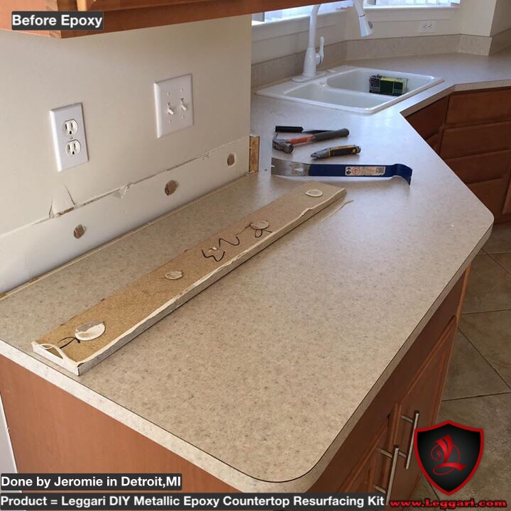 ... Tags: diy metallic epoxy kits countertop counters coating resurfacing
