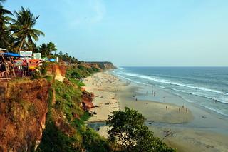 India - Kerala - Varkala - Coastline - 89