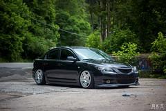 Kennedy's Mazda 3 (RKSPhotography) Tags: static mazda mazda3 slammed stance rks stanceworks stancenation mazdafitment 3sdm rksphotography