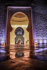 Creativity (AHSAN FARIDI PHOTOGRAPHY) Tags: beautiful architecture creativity gold abudhabi abu masjid sheikhzayedmosque simplyabudhabi