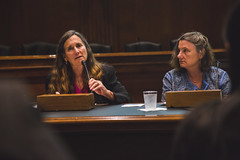 Panelists Jennifer Adams Ellen Piwoz and Jennifer Adams at the 2016 Global Nutrition Report Launch in DC (IFPRI-IMAGES) Tags: dc washington districtofcolumbia meeting seminar research impact conference normal launch gnr booklaunch nutrition malnutrition 2016 endhunger jenniferadams ifpri dirksensenate globalnutritionreport ellenpiwoz
