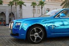Rolls-Royce Ghost (R_Simmerman Photography) Tags: blue marina mall hotel spring dubai boulevard walk garage united parking main ghost uae entrance rollsroyce emirates chrome khalifa arab saudi kuwait abu dhabi qatar burj supercars valet combo jbr 2016 sportcars dubaicars hypercars carsofdubai