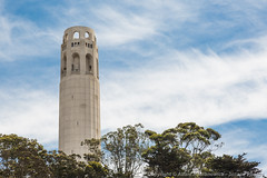 Coit Tower on Telegraph Hill (3scapePhotos) Tags: sanfrancisco california city travel urban usa west building tower architecture coast san francisco downtown famous hill cities landmark coastal coittower westcoast telegraph coit 3scapephotos