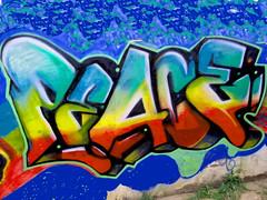 Peace; Friede; Paix; Pax; paz; ?????; ????; ?; ???; mir; shalom; vrede; (Marco Braun) Tags: symbols peace friede paix pax paz mir shalom vrede graffiti streetart urbanart     colour colourful farbig bunt multichrome