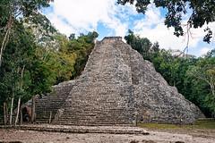 MEXICO - Cob -  Quintana Roo (Infinita Highway!) Tags: america mexico ancient highway pyramid sony central coba alpha zona roo piramide quintana cob infinita arqueolgica