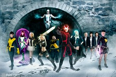 Uncanny X-Men (PatLoika) Tags: cyclops xmen marvel marvelcomics magneto magik dazzler jeangrey emmafrost kittypryde goldballs uncannyxmen xmencosplay stepfordcuckoos