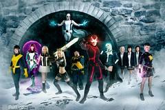 Uncanny X-Men (PatLoika) Tags: xmen xmencosplay marvel marvelcomics cyclops emmafrost jeangrey kittypryde magik stepfordcuckoos magneto goldballs dazzler uncannyxmen cosplay costume cosplayer costumer costuming