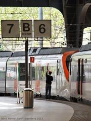 Cap a Vilanova (tunel_argentera) Tags: barcelona train railway zug r2 factor sortida ferrocarril renfe 465 adif estaciódefrança civia circulació r2sud