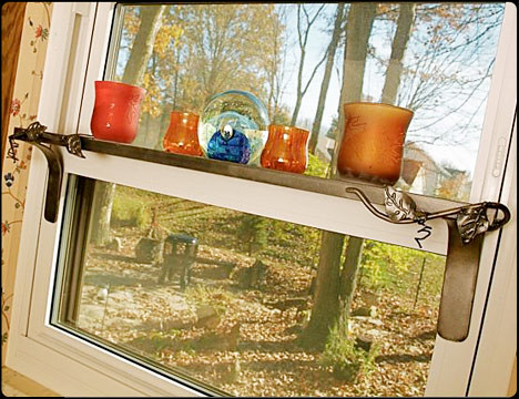 Shelf Life Metal Window Shelf