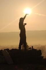 Coniston Sunrise (JAMJARFAIRY) Tags: new morning light sun mist breakfast sunrise dawn spring warm day earth lakedistrict halcyon cumbria mug reach coniston cupoftea flickraward