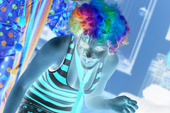 Inverted Series by Gamma Man (Gamma Man) Tags: costume scary rainbow clown makeup richmond va wig ric clowns inverted richmondva richmondvirginia gorey rva invert gory ejc clowncostume invertedphoto elijahjameschristman elichristman elijahchristman elichristmanrva