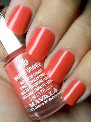 waikiki orange, mavala (nails@mands) Tags: orange coral laranja nagellack polish nailpolish lacquer vernis esmalte smalto verniz mavala waikikiorange