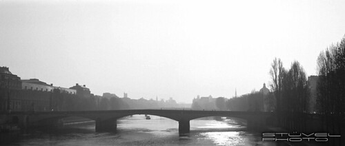 The Seine early in the morning