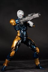Playarts Metal Gear Solid Gray Fox (dangercorpse) Tags: toy actionfigure squareenix mgs grayfox metalgearsolid playarts cyborgninja