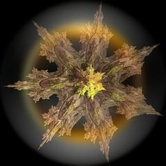 Starform (Rosemarie.s.w) Tags: computergenerated digitalart computerart fractal incendia