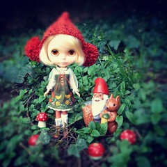 Blythe-a-Day May: Day 2 Gnomes