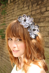 (Jane Bond OriginalFashion) Tags: hat hair whimsy ascot fairy romantic derby klobouk whimsical headband hairband headwear bespoke royalascot headpiece janebond klobouek fascinator cocktailhat hairacessories pardubick pardubicka koktejlovklobouk