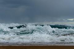 (danielle kiemel) Tags: ocean winter sea seascape beach rain june landscape outdoors waves photographer emotion tide australia nsw rough centralcoast storms 50mmf14 2012 waterscape wamberal daniellekiemel wamberalbeach