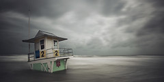 Tropical Storm Debby (andrew_v) Tags: ocean longexposure seascape storm beach water clouds nikon waves flood florida unitedstatesofamerica stormy lifeguard clearwaterbeach largo debby tropicalstorm clearwater d800 pinellascounty nikond800 andrewvernon tropicalstormdebby