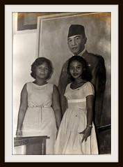 Mother How Are You Today? (Gtr Saroso) Tags: family blackandwhite president mother 1941 soekarno streamzoo