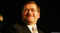 Grover Norquist, American lobbyist, conservative activist,[3] and founder and president of Americans for Tax Reform