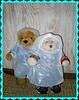 Home made raincoats! (pefkosmad) Tags: vacation holiday wet rain weather wales island countryside break getaway teddybear anglesey llanddeusant weekoff rainmac gingernutt nobbynomates scandinavianlogcabin