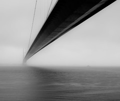 A Bleak Day on the Humber (Neil Nicklin Photography) Tags: bridge england cloud mist wet water rain weather fog canon river suspension yorkshire bleak hull humberbridge humber humberside