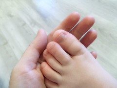 I'll be there for you (AleksandraMicic) Tags: mother child foot step holding caring photographs images moments inspiration helping emotions hand support love joy friendship aleksandra micic 7dwf