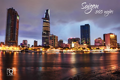 Thu thiem in an afternoon rain (Andy Le | +84908231181) Tags: road city travel people urban reflection tower andy water skyline night sunrise canon buildings river hotel hall asia vietnamese chaos district young culture 7 days vietnam explore le chi ho frontpage minh saigon committee